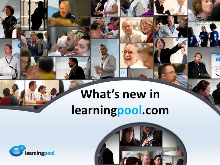 What's new in learningpool.com <br />