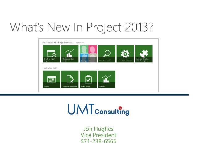 What's New in Microsoft Project 2013