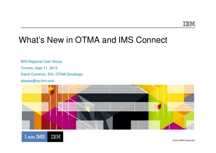 What's New in IMS OTMA and IMS Connect