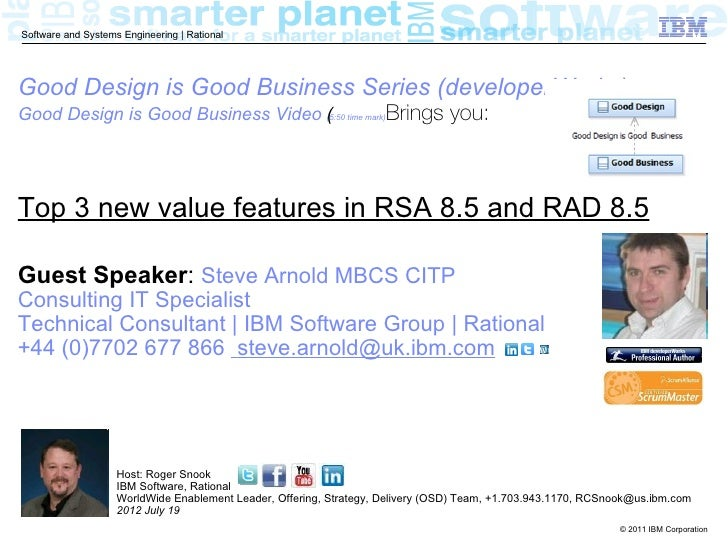 RSA and RAD 8.5 Top New Value Features