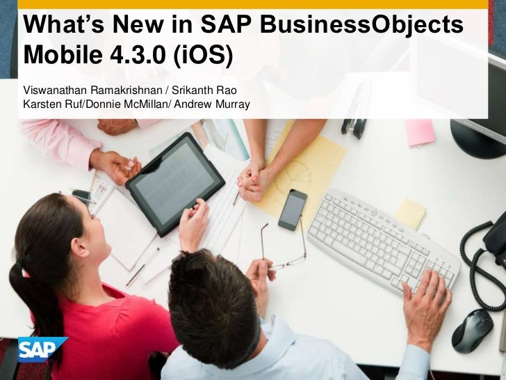 What's new in sap business objects mobile 4 3 0