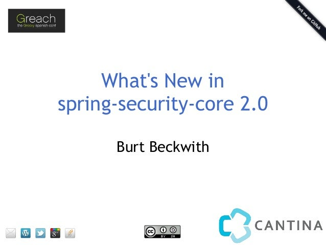 What's New in spring-security-core 2.0