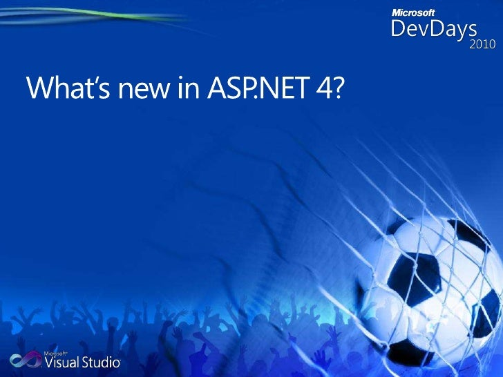 What's new in ASP.NET 4?<br />