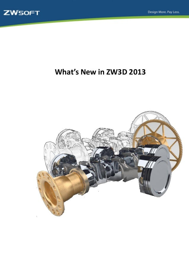 What's new in zw3 d2013 20130412