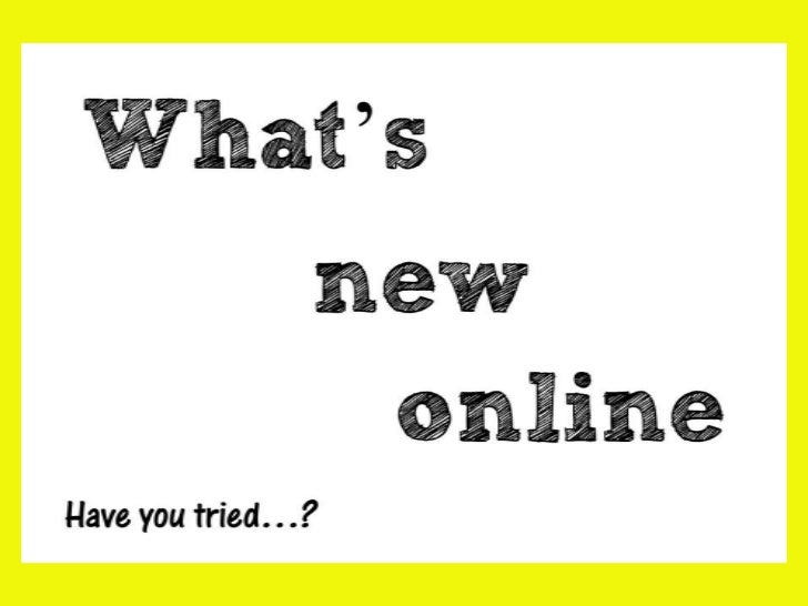 What's New Online for Languages Teachers