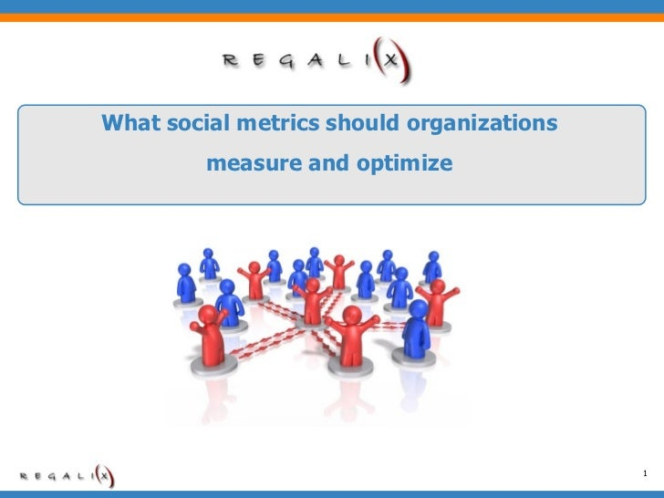 What social metrics should organizations measure and optimize