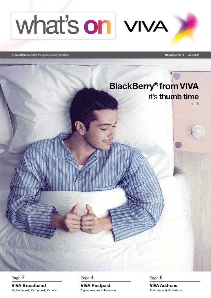 What's on VIVA - Nov 2011 Issue #2