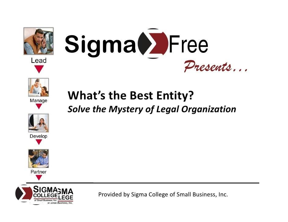Sigma                            Free                                        Presents… What'stheBestEntity? SolvetheM...