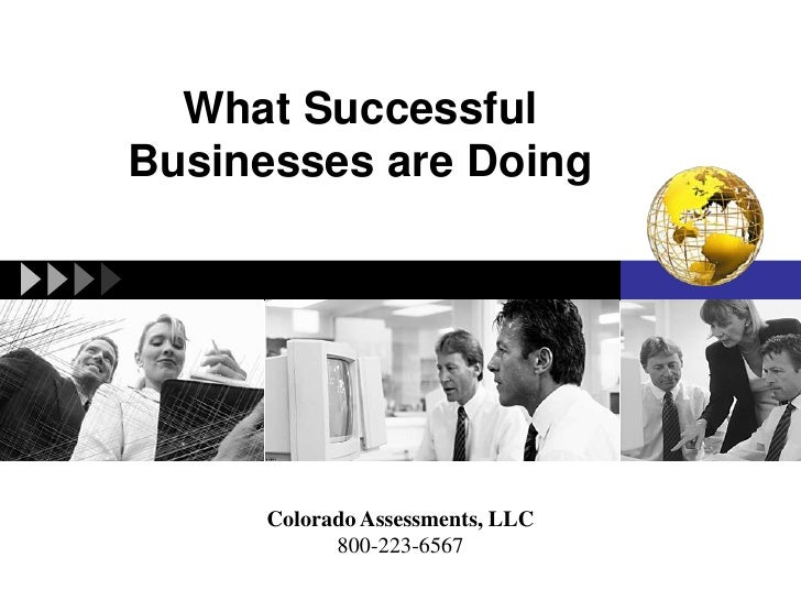 What Successful Businesses are Doing<br />