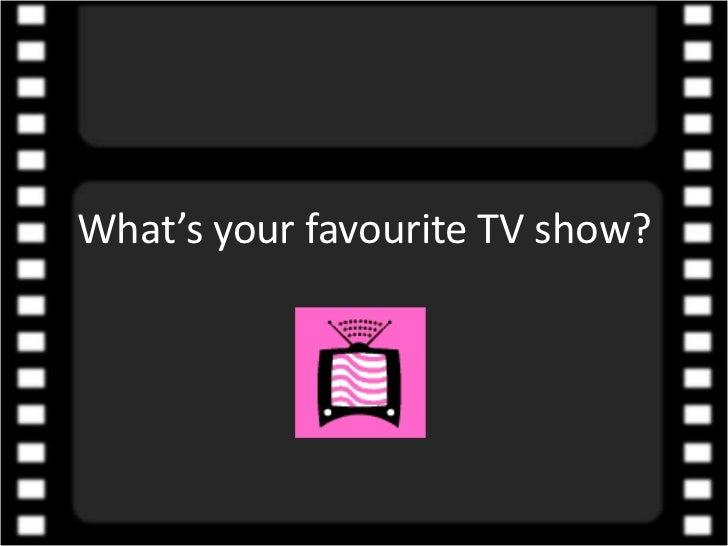 essay on favourite tv program