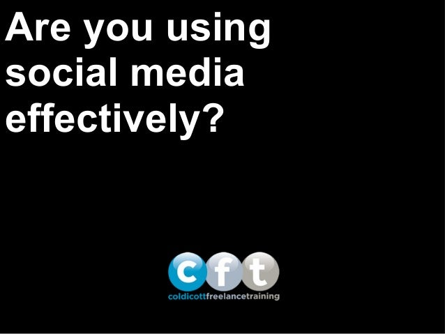 What's your social media strategy