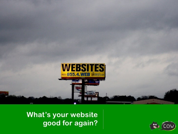 What's your website good for?