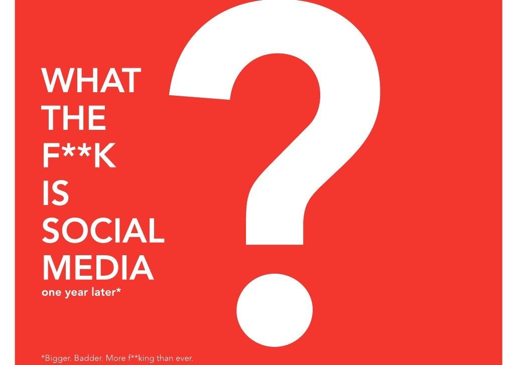 What the f  k is social medi_apdf