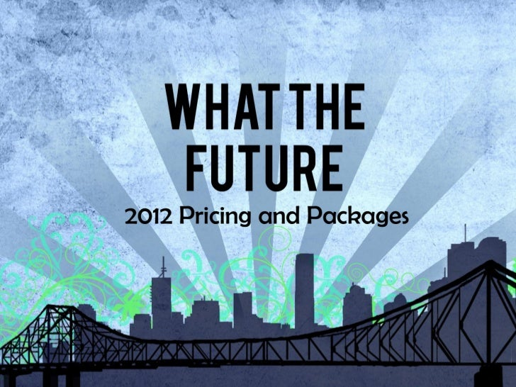 What the future packages and services