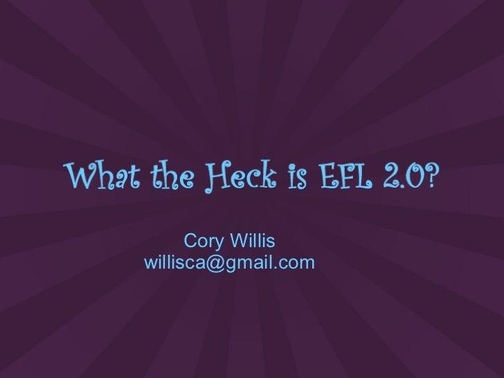 Cory Willis [email_address]