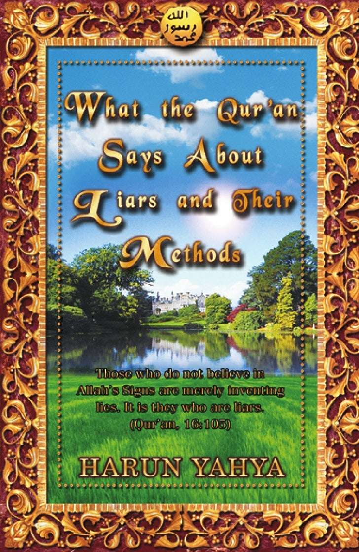 What The Quran Says About Liars And Their Methods 1ed En