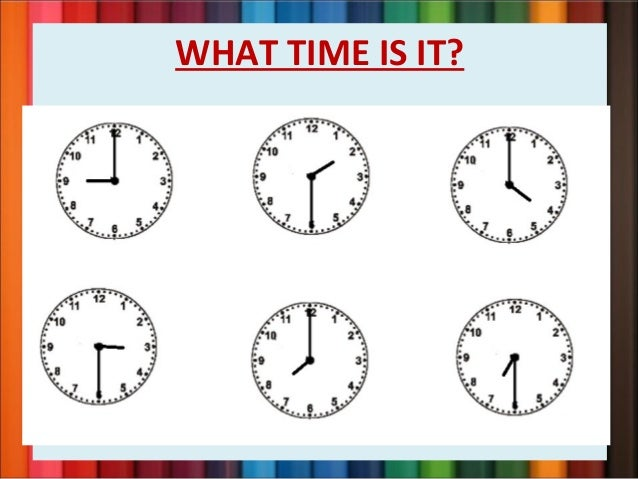 Is the time