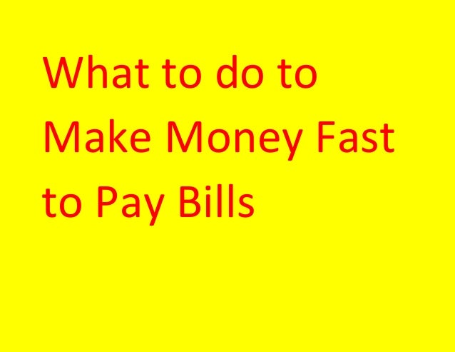 how to earn money quick