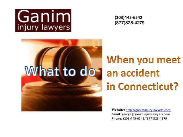what to do when you meet an accident
