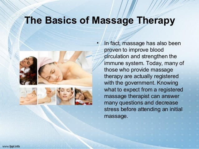 Massage Therapy different nursing majors