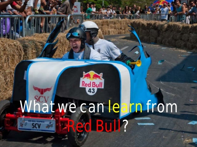 What we can learn from Red Bull?
