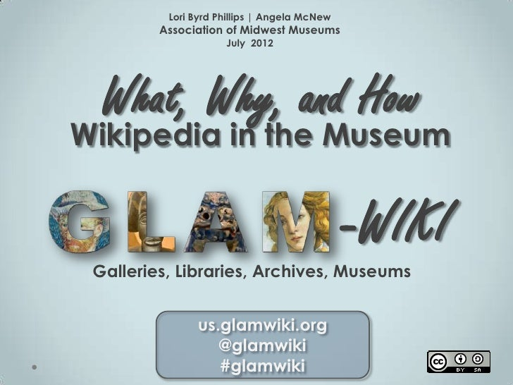 Wikipedia in Museums What Why How