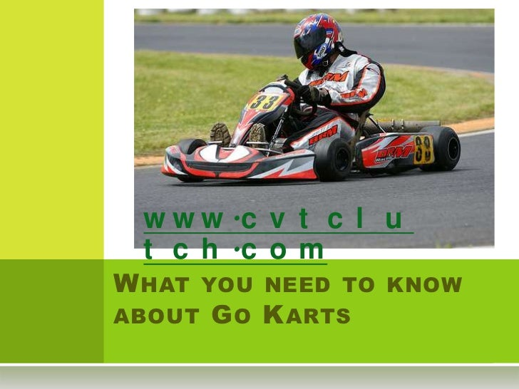 What you need to know about go karts