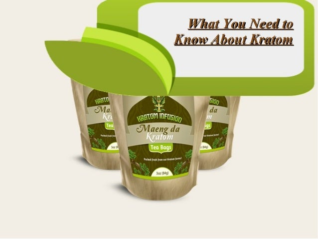 What You Need to Know About Kratom