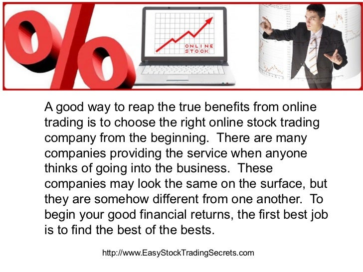 Online stock trading companies reviews