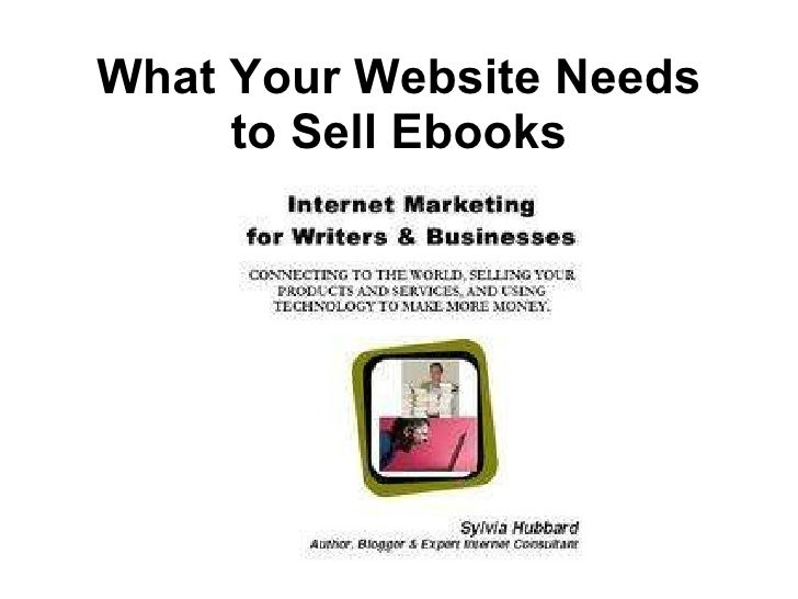 What Your Website Needs to Sell Ebooks