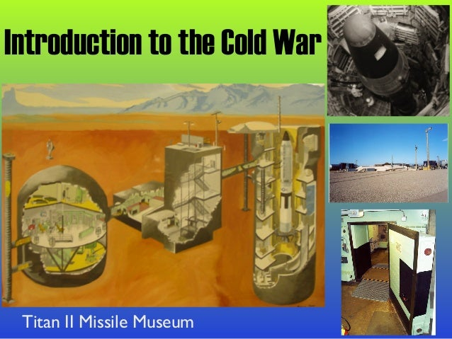 an introduction to the cold war When looking at the cold war in general or in relation to asia, it is important to understand that a conflict lasting a long period may go through changes.