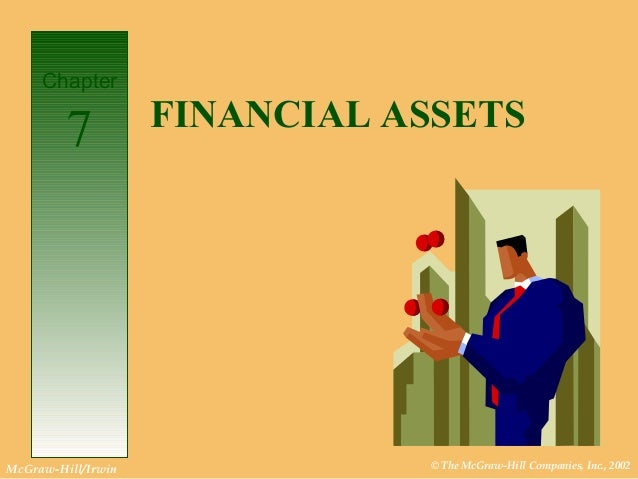 © The McGraw-Hill Companies, Inc., 2002McGraw-Hill/Irwin FINANCIAL ASSETS Chapter 7
