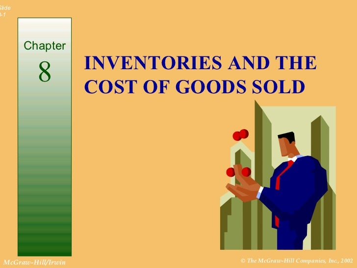 Cost Accounting Chapter 8