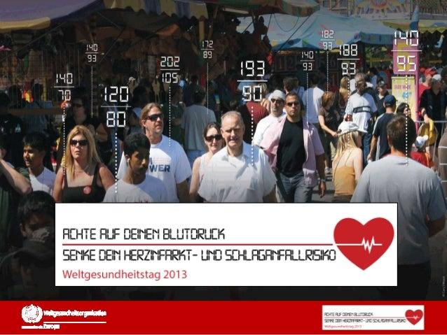 Was ist hoher Blutdruck?• Ein Blutdruck von über 130/80 mmHg gilt als hoher Blutdruck. Hoher  Blutdruck an sich ist oft sy...