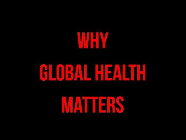 World Health Day Dr Chris Stout 2013