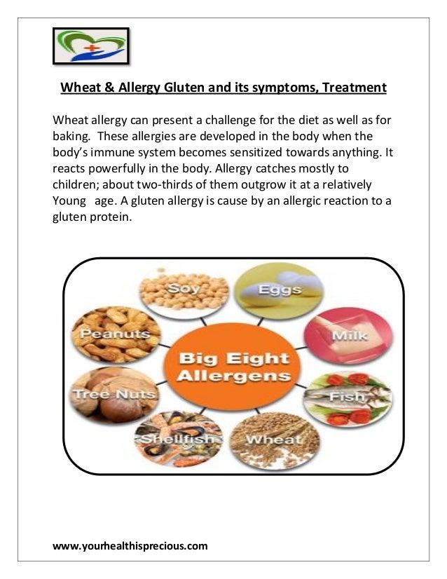 Wheat allergy treatment