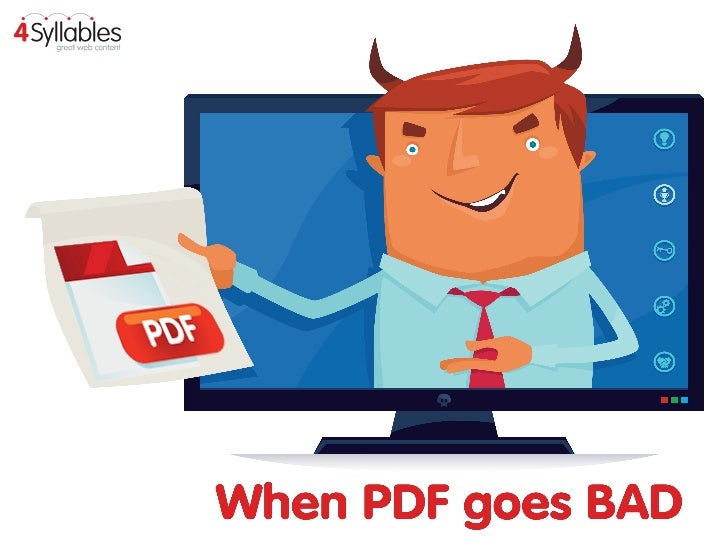 When PDF goes BAD: the UX of PDF