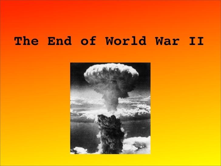 WH end of World War II