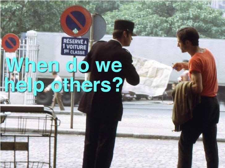 When do we help others