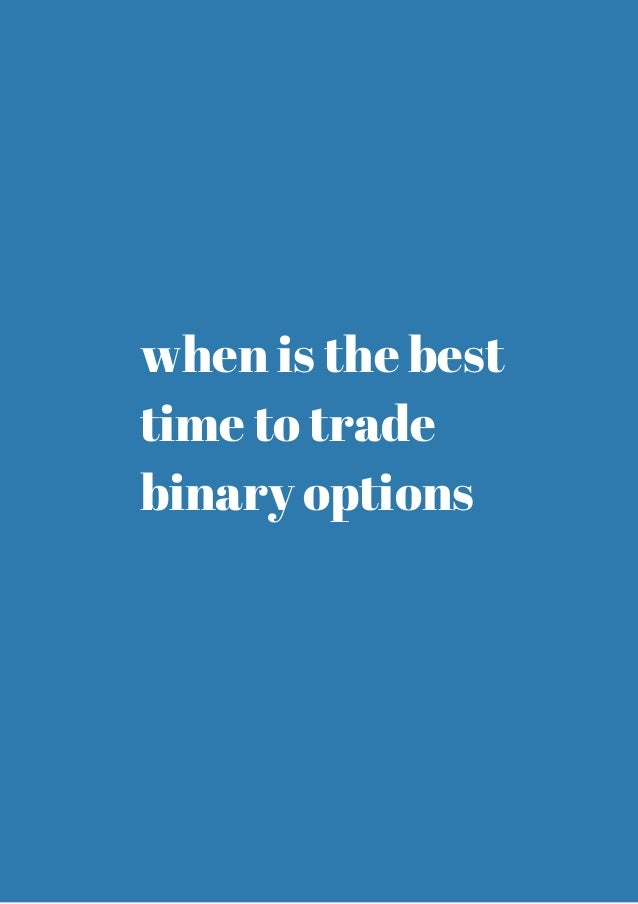 Best currency to trade binary options