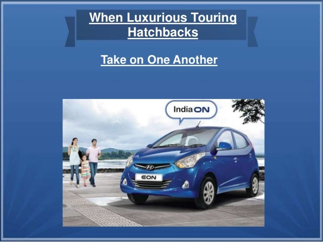 Take on One Another When Luxurious Touring Hatchbacks