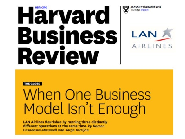 When One Business Model Isn't Enough: LAN Airlines