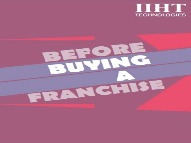 An Extensive Research Third Party Evaluation Determining if a specific franchise 'is for you' is a task that is complex, y...