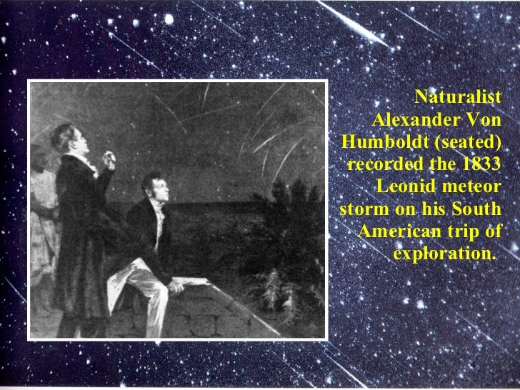 Leonid Meteor Shower 1833 The 1833 Leonid Meteor