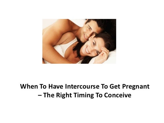 Having sex everyday or every other day to get pregnant