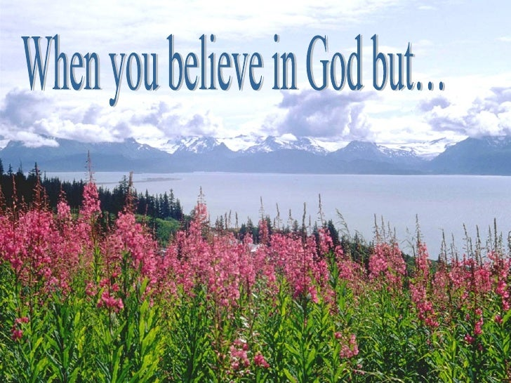•   Worry is a sin. It is    distrusting God's    promises. It is distrusting    God's power.