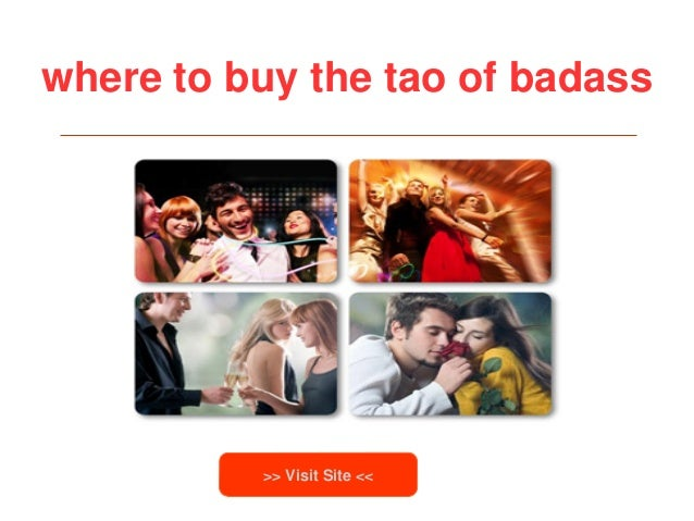 where to buy the tao of badass>> Visit Site <<