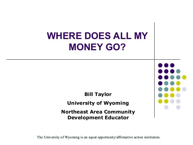 The University of Wyoming is an equal opportunity/affirmative action institution.The University of Wyoming is an equal opp...