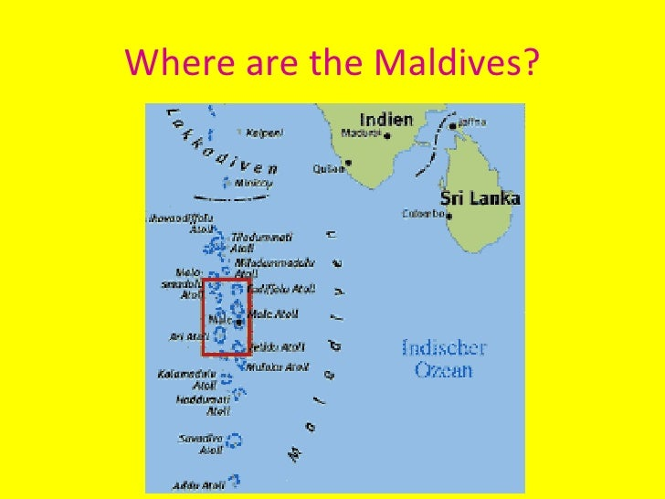 Where are the Maldives?