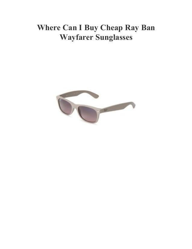 Cheap Ray Bans Wayfarer